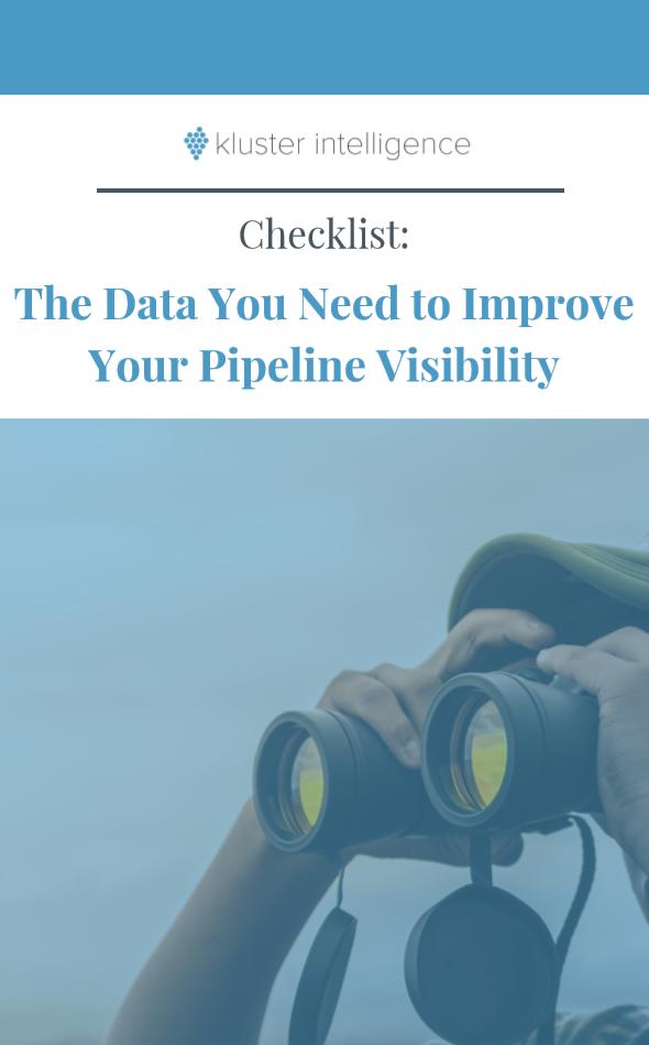 Pipeline visibility checklist