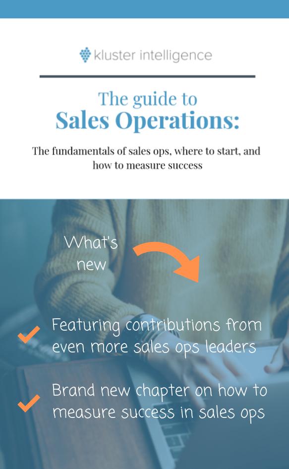 Kluster Sales Ops eBook preview