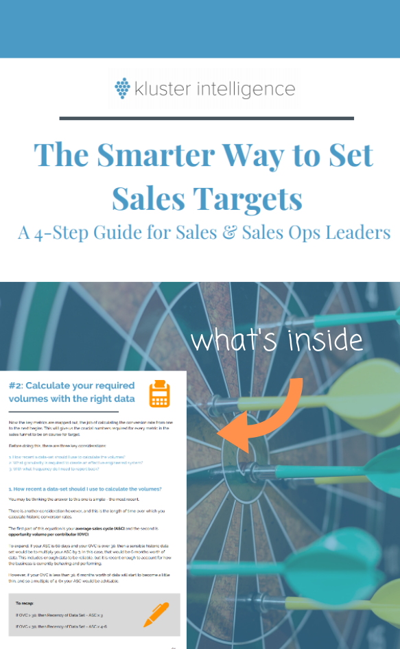 The Smarter Way to Set Sales Targets - sneak preview